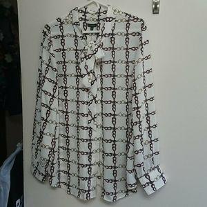 Talbot XL blouse shirt  NWT